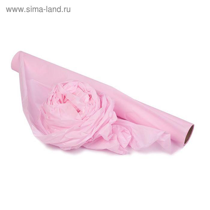 Полисилк матовый, светло-розовый, 0,5 х 10 м