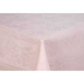 Скатерть Рейнбоу жаккард, размер 145х145 см, цвет кремовый Ош