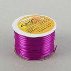 Лента атласная 3мм*100м фиолетовый