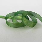 Лента парчовая 25мм*30м зеленый