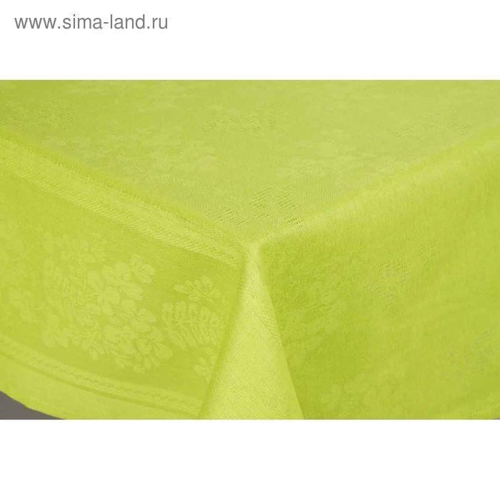 Скатерть Рейнбоу жаккард, размер 145х180 см, цвет лайм