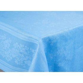 Скатерть Рейнбоу жаккард, размер 145х180 см, цвет аквамарин Ош