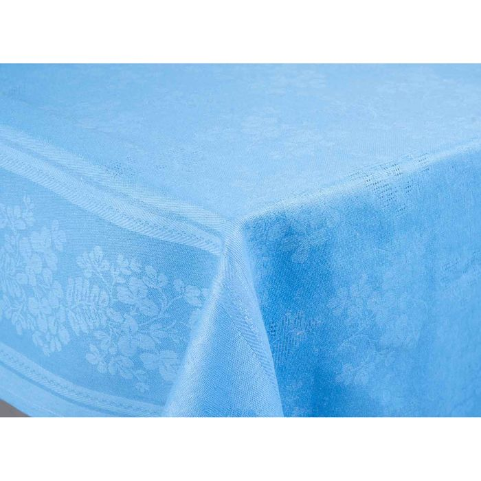 Скатерть Рейнбоу жаккард, размер 145х180 см, цвет аквамарин