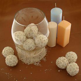 Декоративные шары 'Сола амит', 6 см Ош