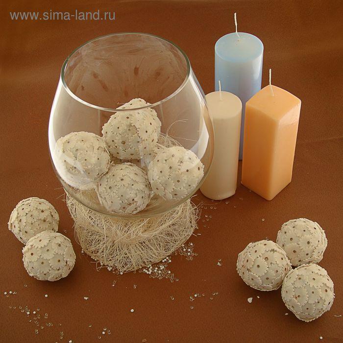 """Декоративные шары """"Сола амит"""", 6 см"""