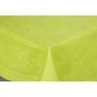 Скатерть Рейнбоу жаккард, размер 145х145 см, цвет лайм