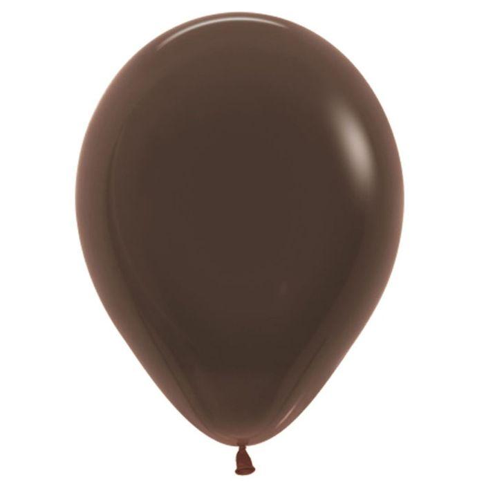 """Шар латексный 9"""", пастель, набор 100 шт., цвет коричневый 076 - фото 227054099"""