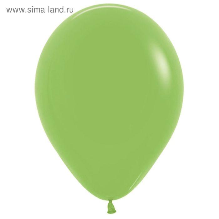 """Шар латексный 9"""", пастель, набор 100 шт., цвет светло-зелёный"""