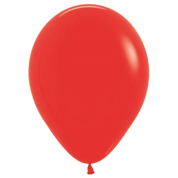 """Шар латексный 18"""", пастель, набор 25 шт., цвет красный 015 - фото 308468654"""