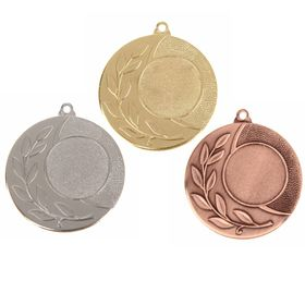 Медаль под нанесение 028, золото Ош