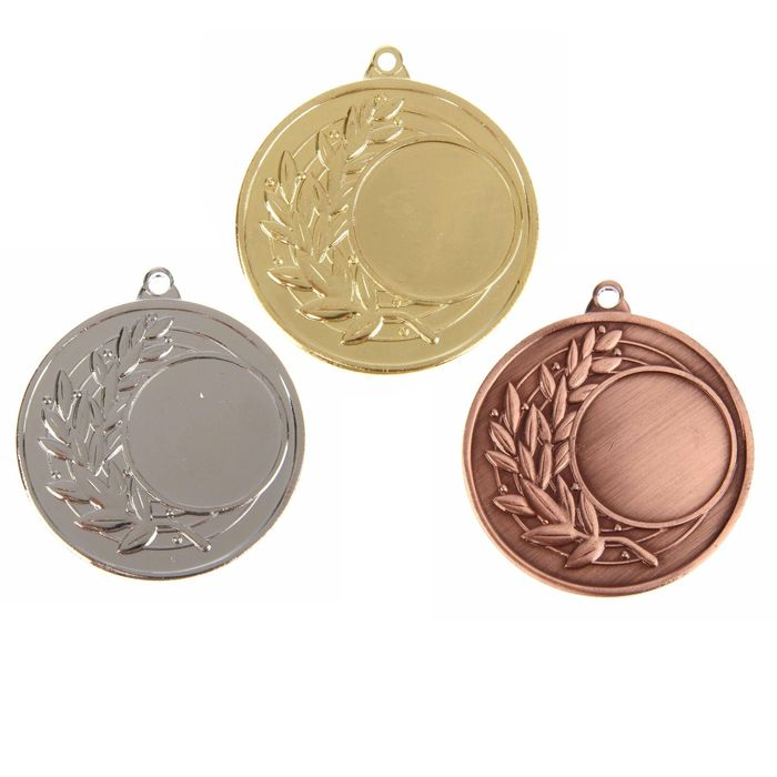 Медаль под нанесение 026, бронза