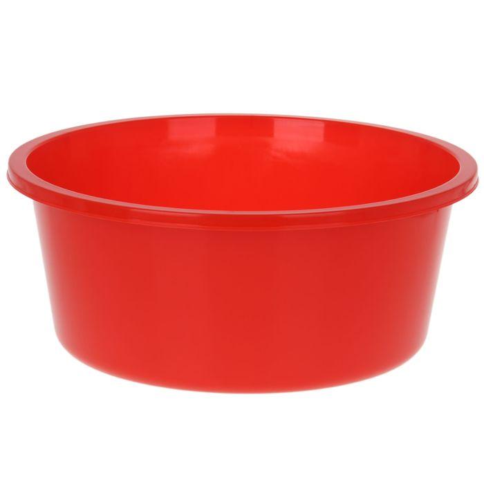 """Таз 20 л """"Кливия"""", цвет красный"""