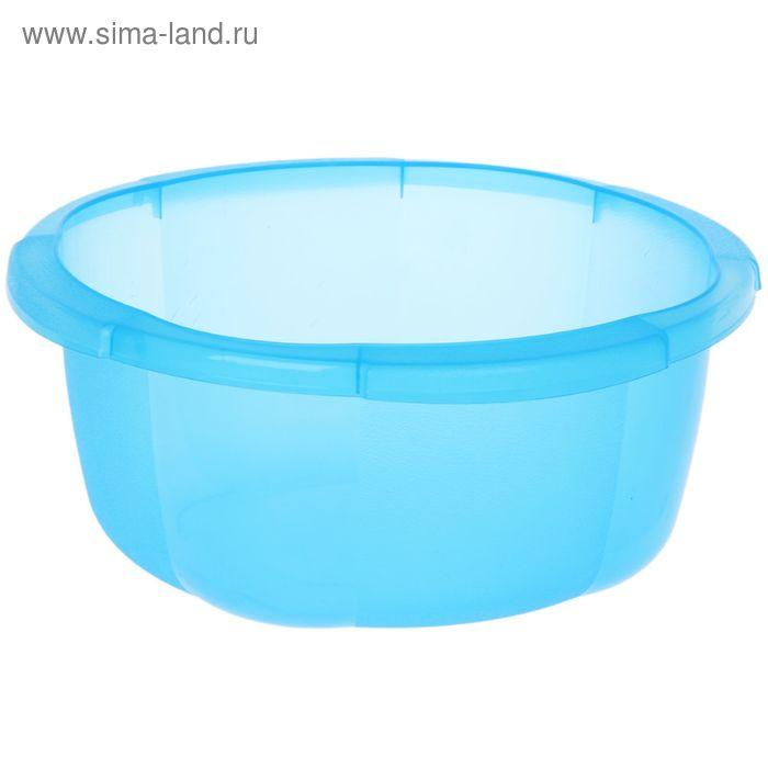"""Таз 4,5 л """"Космея"""", цвет голубой"""