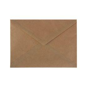 Конверт почтовый крафт С5, 162х229 мм, треугольный клапан, клей, 80-90 г/м2, в упаковке 1000 штук