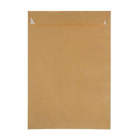 Конверт почтовый крафт С4 229x324 мм, силиконовая лента, 90 г/м², в упаковке 25 шт.