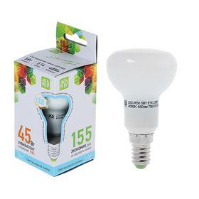 Лампа светодиодная направленного света R50, Е14, 5 Вт, 4000 К