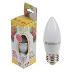 Лампа светодиодная ASD LED-СВЕЧА-standard, Е27, 3.5 Вт, 230 В, 3000 К, 320 Лм