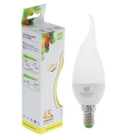 Лампа светодиодная ASD LED-СВЕЧА НА ВЕТРУ-standard, Е14, 5 Вт, 230 В, 3000 К, 450 Лм