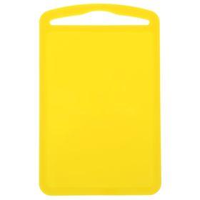 """Доска разделочная 28×18 см """"Комфорт"""", цвет желтый"""