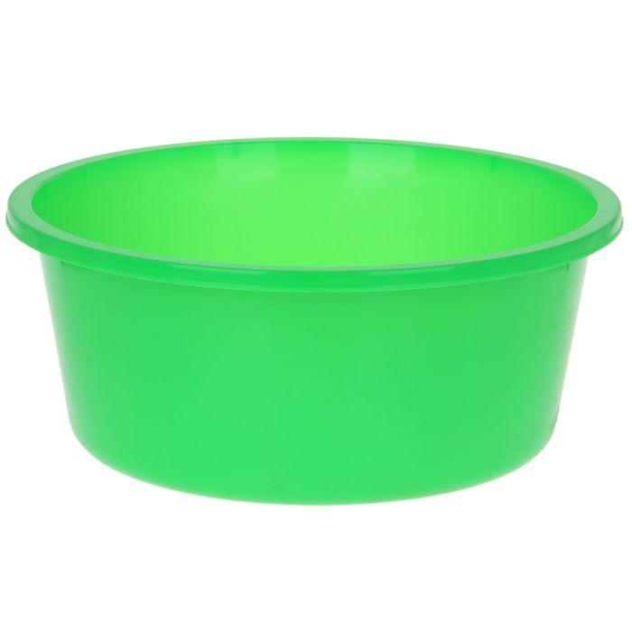 """Таз 20 л """"Кливия"""", цвет зелёный"""