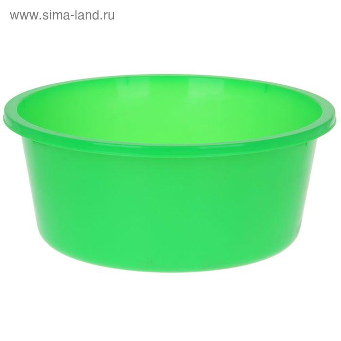 """Таз 20 л """"Кливия"""", цвет зеленый"""