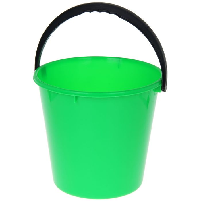 Ведро «Примула», 10 л, цвет зелёный