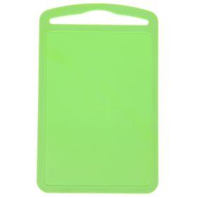 Доска разделочная ТД Ангора «Комфорт», 28×18 см, цвет зелёный