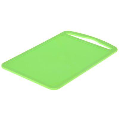 """Доска разделочная 28×18 см """"Комфорт"""", цвет зеленый"""