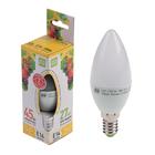 Лампа светодиодная ASD LED-СВЕЧА-standard С37, Е14, 5 Вт, 230 В, 450 Лм, 3000 К