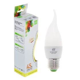 "Лампа светодиодная ASD, Е27, 5 Вт, 160-260 В, 3000 К, ""свеча на ветру"""