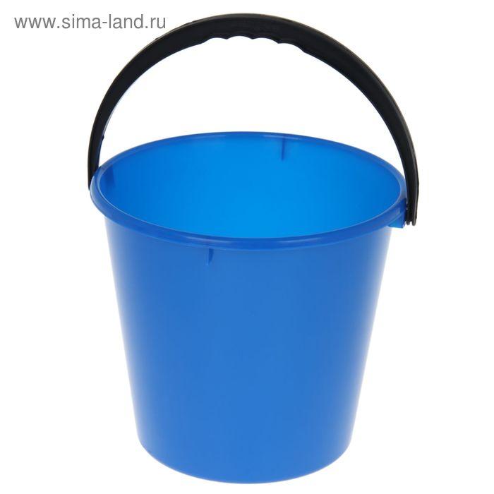 """Ведро 7 л """"Примула"""", цвет голубой"""