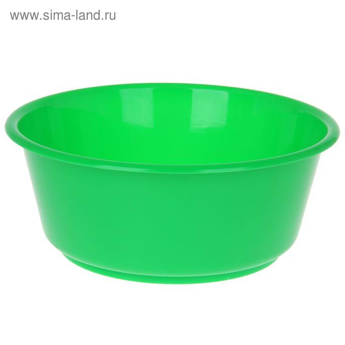 """Таз 10 л """"Кливия"""", цвет зеленый"""