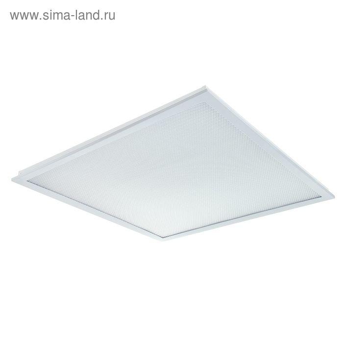 """Панель светодиодная ASD LP-eco """"Призма"""", 36 Вт, 4000 К, 3000 Лм, 595х595 мм, без ЭПРА, белая"""