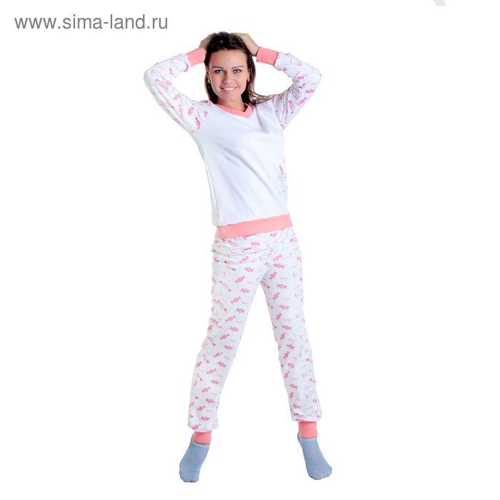 Комплект женский (фуфайка, брюки) арт.12с148П, р-р 50-52 (100-104)