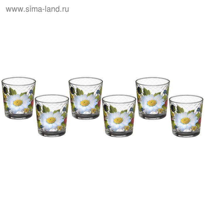 """Набор стаканов 250 мл """"Лесная поляна"""", 6 шт"""