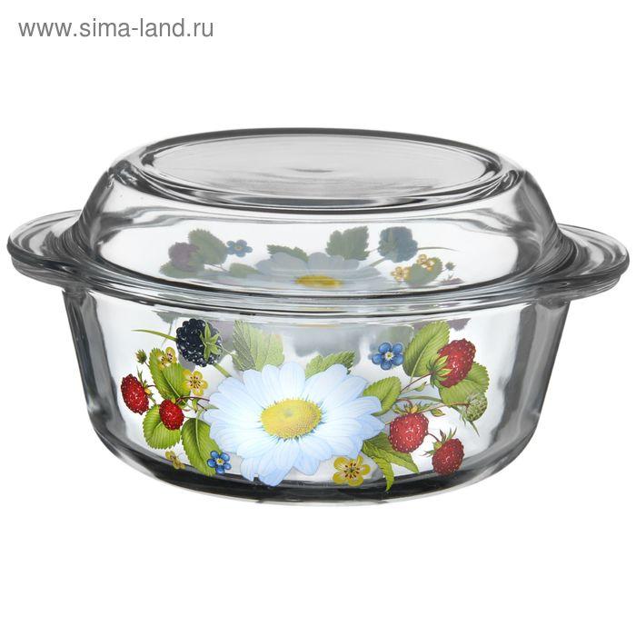 """Кастрюля для СВЧ 1,5 л """"Лесная поляна"""""""