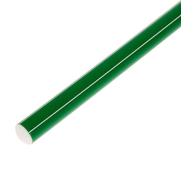 Палка гимнастическая 80 см, цвет зелёный