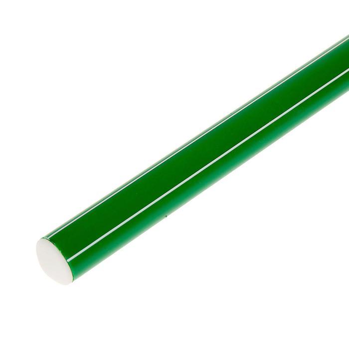 Палка гимнастическая 70 см, цвет зелёный