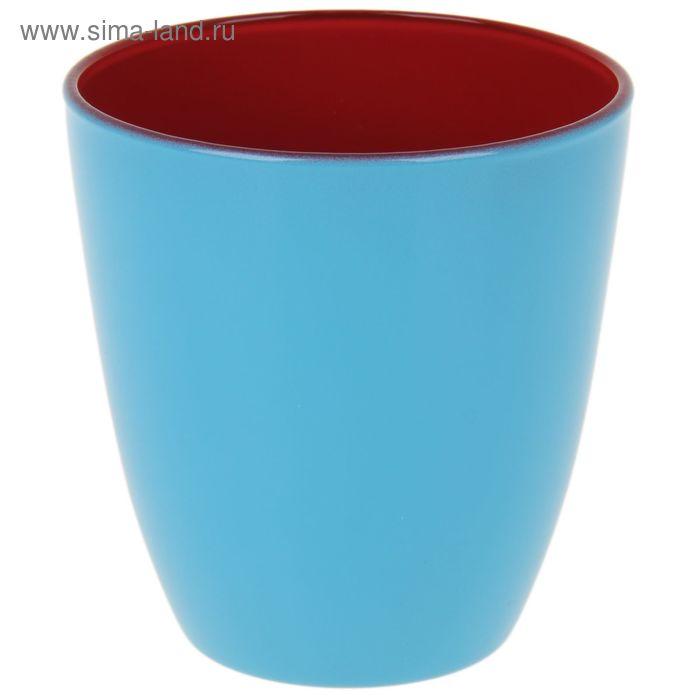 Стакан 250 мл Spring Break, цвет малиновый/голубой