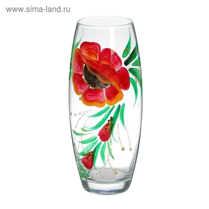 """Ваза """"Полевые цветы"""", прозрачная"""