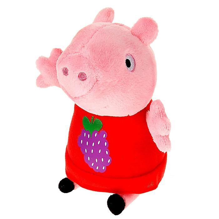 Мягкая игрушка «Пеппа с виноградом»