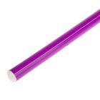 Палка гимнастическая 70 см, цвет: фиолетовый