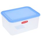 Контейнер пищевой 3 л, цвет голубой