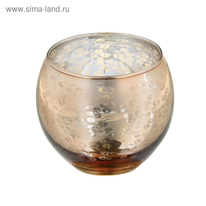 "Подсвечник на 1 свечу ""Ромашковое поле"""