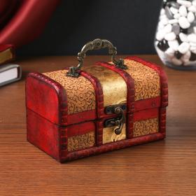 "Casket box with handle ""Bindweed"""
