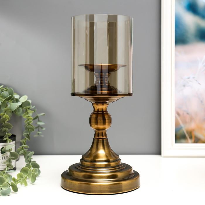 """Подсвечник на 1 свечу """"Император"""" под латунь - фото 1622437"""