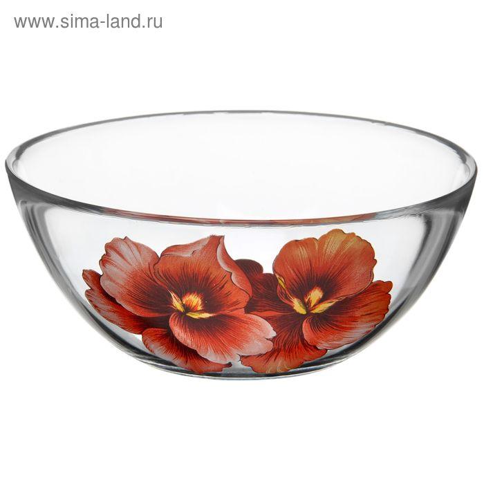 """Салатник 250 мл """"Розовая орхидея"""", d=13 см"""