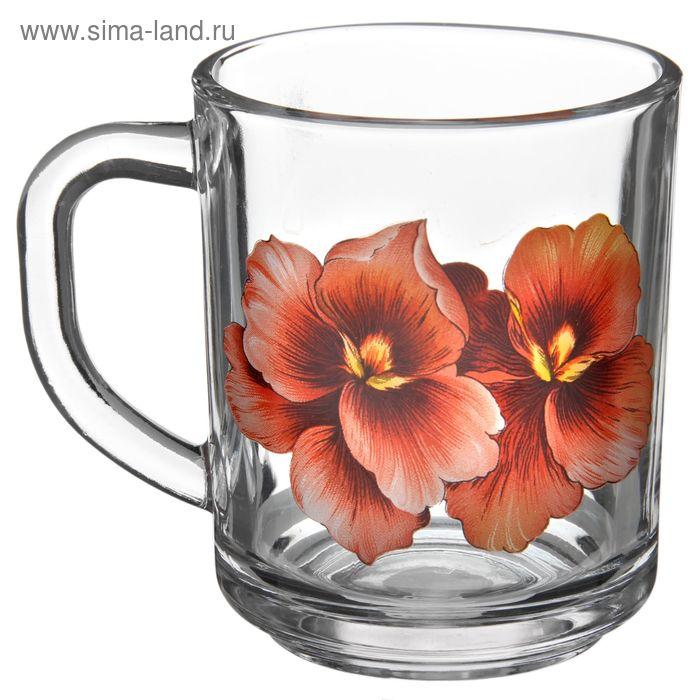"""Кружка 200 мл """"Розовая орхидея"""", в подарочной упаковке"""
