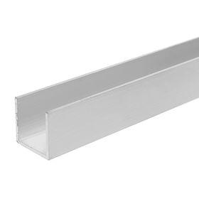 Профиль алюминиевые  П-образный 20*20*20*1,5мм 2м