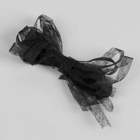 Паутинка клеевая, 10 мм, 3 м, цвет чёрный Ош